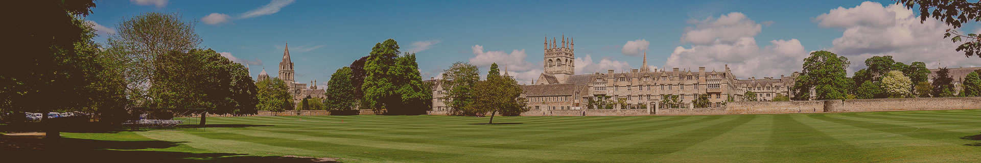 View of one of the UK's most prestigious educational institutions which non-EEA students can attend via a UK Student Visa